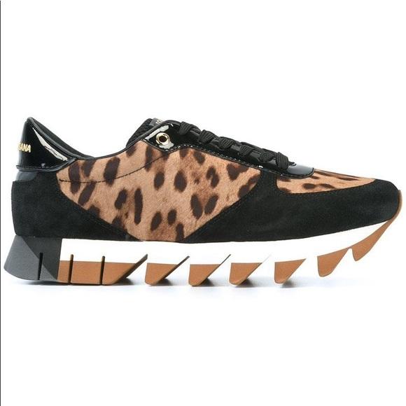 f9bb3ab1328 Dolce Gabbana Leopard Sneakers